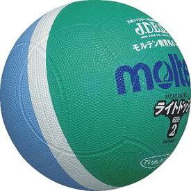 【年中無休】20%OFF 最大10%引クーポン モルテン ドッジボール ライトドッジ 2号球 サックス×緑 SLD2MSK