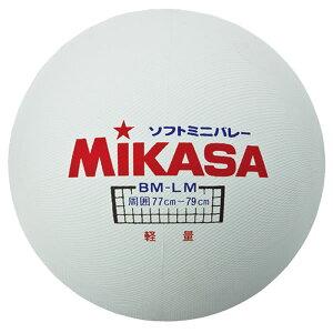 最大10%引クーポン バレーボール バレーボール ミカサ ソフトミニバレーボール(大) 軽量 白 BM-LM