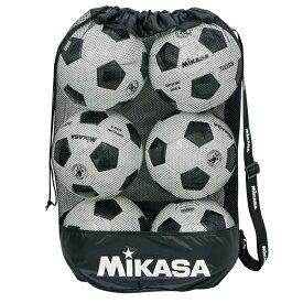 最大2千円引クーポン ミカサ ボールバッグ メッシュ巾着型 中 MBAS サッカー バレーボール バスケットボール