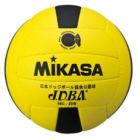 20%OFF 最大10%引クーポン ミカサ ドッジボール 公認球 3号 黄/黒 MGJDB-YBK 取寄