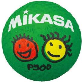 【あす楽】ミカサ レジャーボール プレイグラウンドボール 直径約13cm グリーン P500