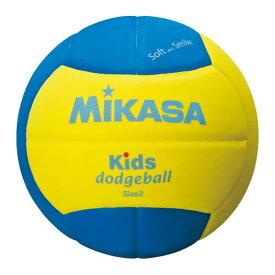 【2200円で送料無料】 ドッジボール ミカサ キッズドッジボール2号 EVA 軽量約160g 青/黄 SD20-YBL