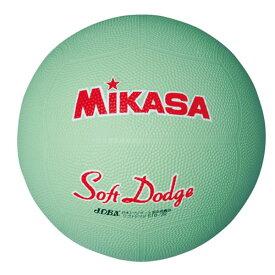 【あす楽】ミカサ ソフトドッジボール2号 軽量190g STD-2R-G 小学生
