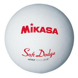 20%OFF 最大10%引クーポン ドッジボール ミカサ ソフトドッジボール2号 軽量約190g ホワイト STD-2R-W 取寄