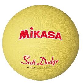 20%OFF 最大10%引クーポン ドッジボール ミカサ ソフトドッジボール2号 軽量約190g イエロー STD-2R-Y 取寄