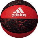最大10%引クーポン アディダス バスケットボール シャドースクワッド 7号球 レッド×ブラック AB7123R
