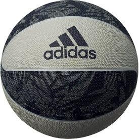 アディダス バスケットボール シャドースクワッド 7号球 グレイ×ネイビー AB7125NV