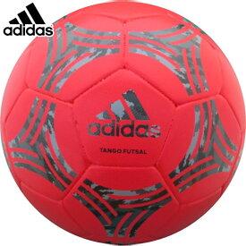 フットサルボール 4号球 adidas アディダス 貼り タンゴグラフィック ハイブリッド 赤色 AFF4632R