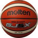 28%OFF 最大5000円引クーポン 名入れ可(有料) モルテン ミニバスケットボール GJ5X 5号 検定球 オレンジ×アイボリー BGJ5X あす楽