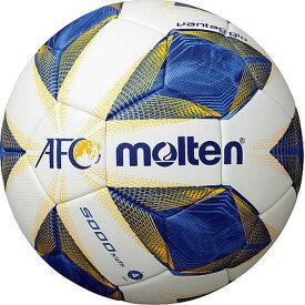 最大10%引クーポン molten サッカーボール AFC キッズ 4号 検定球 ホワイト×ブルー×イエロー F4A5000-A
