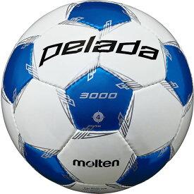 最大10%引クーポン モルテン サッカーボール ペレーダ 3000 4号球 検定球 F4L3000-WB