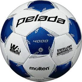 最大10%引クーポン モルテン サッカーボール ペレーダ 4000 4号球 検定球 F4L4000-WB