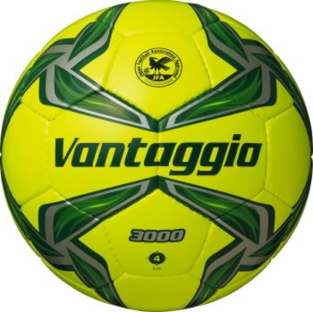 20%OFF 最大10%引クーポン モルテン サッカーボール ヴァンタッジオ3000 4号 検定球 ライトイエロー×グリーン F4V3000-YG フットボール