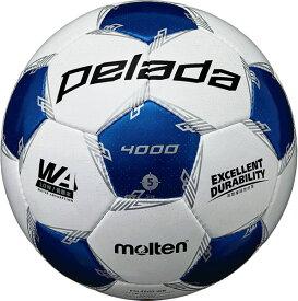 最大10%引クーポン モルテン サッカーボール ペレーダ 4000 5号球 検定球 F5L4000-WB