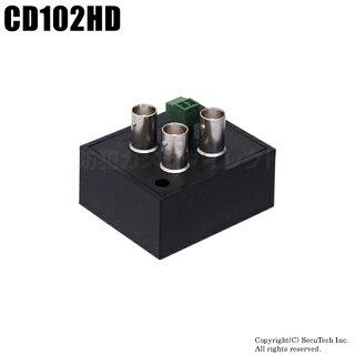 【CD102HD】映像二分配器(AHD/TVI/CVI1入力2出力)