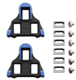 [正規代理店仕入れ 新パッケージ] SHIMANO シマノ SM-SH12 SPD-SLクリート ブルー(フロントセンターピボッティングモード)Y40B98140