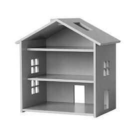 【ポイント10倍】【送料無料】ドールハウス 木製 北欧 人形用 Nofred(ノーフレッド)Harbour House (Grey)