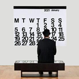 【送料無料】ステンディグカレンダー 2021 Stendig Calendar モノトーン カレンダー 2021 壁掛け 大判カレンダー 正規販売店