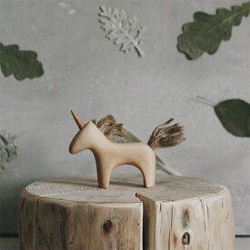 【送料無料】 tateplota 木製 ユニコーン ロシア 木のおもちゃ 知育玩具 ベビーギフト 子供部屋インテリア 木製オブジェ 出産祝い 幼児 木製玩具 ごっこ遊び ままごと