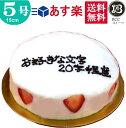 バースデーケーキ 誕生日ケーキ 5号 名入れ 大阪ヨーグルトケーキ / 父の日 15cm フルーツケーキ 大阪 名物 送料無料 …