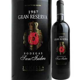ボデガス・サン・イシドロ グラン・レセルバ [1987] 8410773001845-87【600016】【06001】【スペイン】【赤ワイン】【new1903】【SP18】
