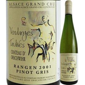 シャトー・ドルシュヴィール ピノ・グリ グラン・クリュ ランゲン ヴァンダンジュ・タルディヴ [2001] 600061【06001】【フランス】【白ワイン】【成人祝い】【R203】【F11】