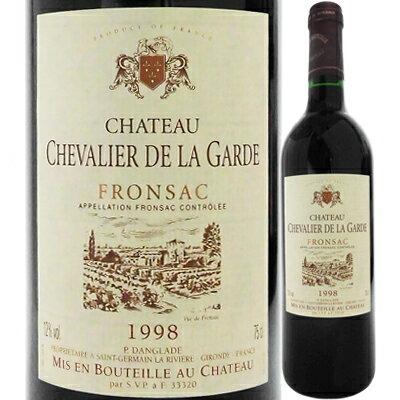 シャトー・シュヴァリエ・デ・ラ・ガルデ [1998] 4562183521124【59001】【フランス】【赤ワイン】【new1811】【F15】