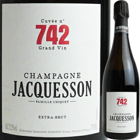 シャンパーニュ・ジャクソン ジャクソン キュヴェ 742 600128【05001】【フランス】【シャンパン】【R203】【F2】