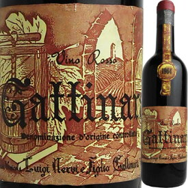 ネルヴィ ガッティナーラ [1964] 600279【60003】【送料無料】【イタリア】【赤ワイン】【R308】【U29】
