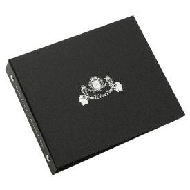 ラベルメモリーバインダー ブラック ZW900BN 4521574008361【08001】【アルバム】【WZ51】