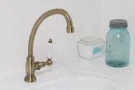 〔1PLVA〕 JODEN社製 単水栓 一生涯保障バルブ Victoria|アンティークブラス