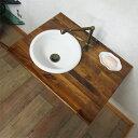 洗面ボウル おしゃれ 陶器 オーバーカウンター 埋め込み ラウンド 丸 幅30cm INK-0405051H