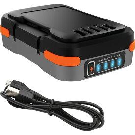ポイント20倍 ブラックアンドデッカー【BDCB12U】GoPak充電池(USBケーブル付き)【日本正規代理店品・保証付き】
