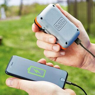 【ブラックアンドデッカー公式ストア】ブラックアンドデッカー【BDCB12U】GoPak充電池(USBケーブル付き)