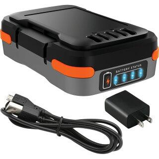 【ブラックアンドデッカー公式ストア】ブラックアンドデッカー【BDCB12U】GoPak充電池(USBケーブル・ACアダプタ付き)