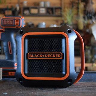【ブラックアンドデッカー公式ストア】ブラックアンドデッカー【BDCSP18】18VBluetoothスピーカー