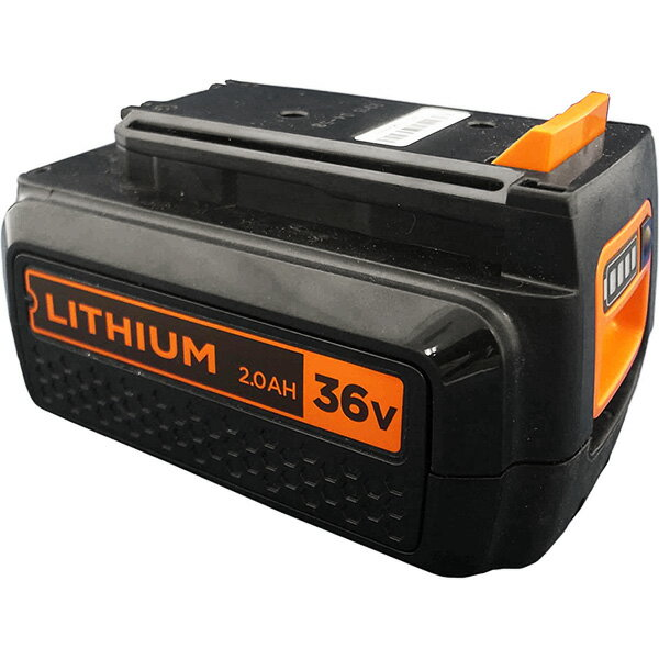 ブラックアンドデッカー【BL2036】36V2.0Ahリチウムイオンバッテリー【日本正規代理店品・保証付き】