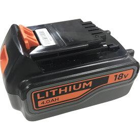 ブラックアンドデッカー【BL4018】18V 4.0Ah リチウムイオンバッテリー【日本正規代理店品・保証付き】
