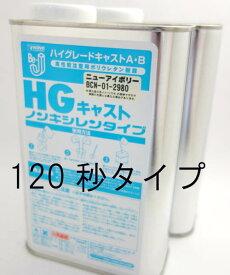 【120秒タイプ】Be-J HGキャスト ニューアイボリー 2kgセット (ノンキシレン)【BCN-011】