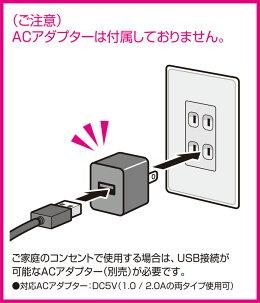 WAVEルーペスタンド[LEDライト付]USB給電タイプ[HT065]