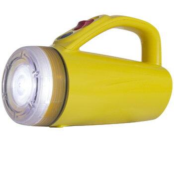 [防災用ライト電池式懐中電灯LEDライト]単2・3・41本でライト[KBN-234]【RCP】緊急時非常用ライト緊急時ライト常備灯懐中電灯夜間作業サーチライト懐中電灯防滴防水ライト雨にも強い