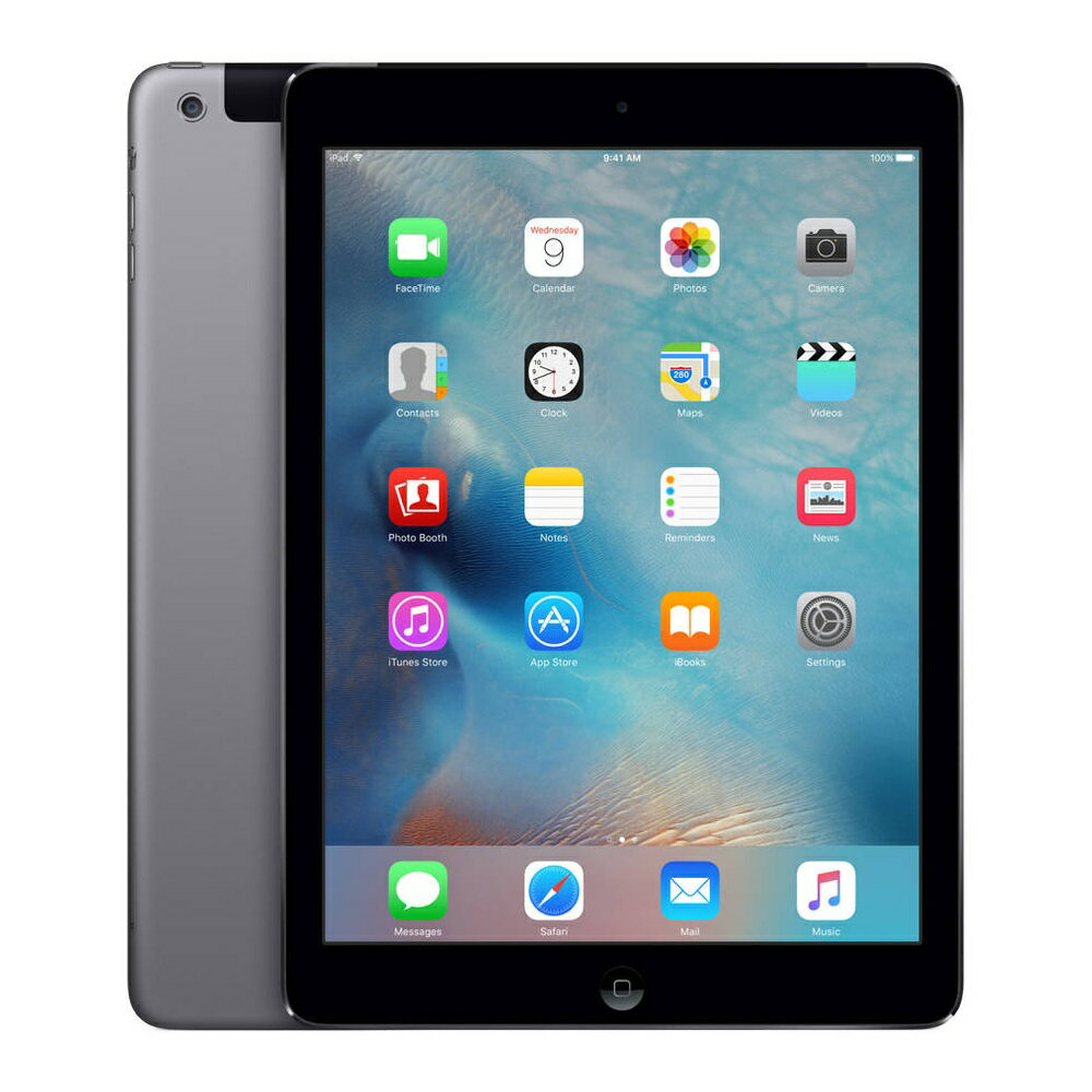 中古タブレットApple iPad Air Wi-Fi+Cellular 32GB au(エーユー) スペースグレイ MD792J/B 【中古】 Apple iPad Air Wi-Fi+Cellular 32GB 中古タブレットApple A7 iOS11.3