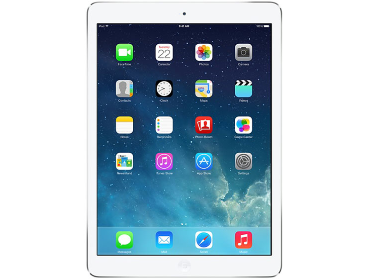 【ポイント最大27倍!】中古タブレットApple iPad Air Wi-Fi + Cellular 32GB au(エーユー) シルバー MD795J/A 【中古】 Apple iPad Air Wi-Fi + Cellular 32GB 中古タブレットApple A7 iOS11.3