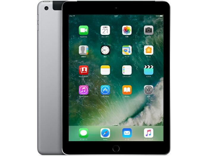 【最大3000円クーポン配布!さらに最大10000ポイント!】中古タブレットApple iPad 第5世代 Wi-Fi +Cellular 32GB au(エーユー) スペースグレイ MP1J2J/A 【中古】 Apple iPad 第5世代 Wi-Fi