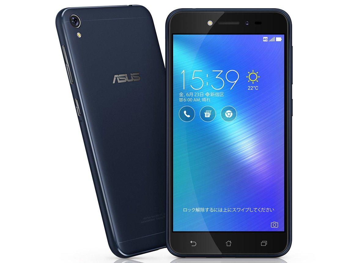 【最大10,000円クーポン配布中!】中古スマートフォンASUS ZenFone Live SIMフリー ネイビーブラック ZB501KL/B 【中古】 ASUS ZenFone Live 中古スマートフォンオクタコア Android6.0 ASUS Ze