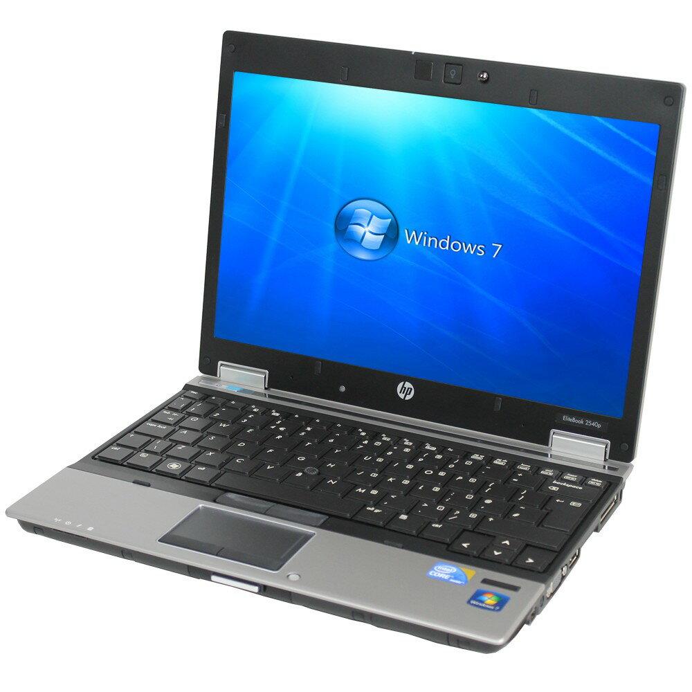 【500円クーポン使えます!】中古ノートパソコンHP EliteBook 2540p XP933PA 【中古】 HP EliteBook 2540p 中古ノートパソコンCore i7 Win7 Pro HP EliteBook 2540p 中古ノートパソコンCore i7 Win7 Pro