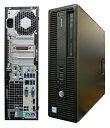 中古デスクトップHP EliteDesk 800 G2 SFF W6S46PP 【中古】 HP EliteDesk 800 G2 SFF 中古デスクトップCore i5 Win10 Pro 64bit HP EliteDesk 800 G2 SFF 中古デスクトップCore i5 Win10 Pro 64bit