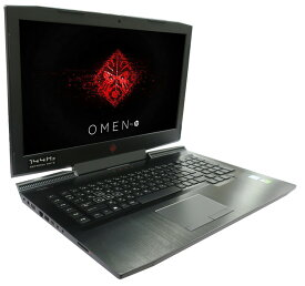 中古ノートパソコンHP OMEN by HP 17-an132TX 4ME12PA 【中古】 HP OMEN by HP 17-an132TX 中古ノートパソコンCore i7 Win10 Pro 64bit HP OMEN by HP 17-an132TX 中古ノートパソコンCore i7 Win10 Pro 64bit