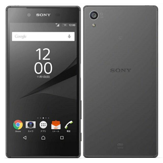 【スマホからのキャンペーンエントリーでポイント10倍!3/24 10時まで!】中古スマートフォンSONY Xperia Z5 au(エーユー) ブラック SOV32/B 【中古】 SONY Xperia Z5 中古スマートフォンオクタコア Android7.0 SONY Xperia Z5 中古スマートフォンオクタコア Android7.0