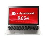 【スマホエントリーで最大10倍!】中古ノートパソコンTOSHIBA dynabook R654/M PR654MAX1E7AD71 【中古】 TOSHIBA dynabook R654/M 中古ノートパソコンCore i5 Win8.1 Pro TOSHIBA dynabook R654/M 中古ノートパソコンCore i5 Win8.1 Pro【18日10:00〜25日09:59 ) 】